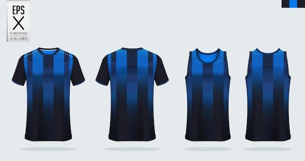 Футбольный джерси, футбольный комплект, баскетбольная форма шаблона.