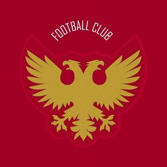 Дизайн футбольного или футбольного логотипа