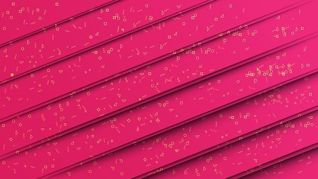 ピンクの紙のテクスチャ