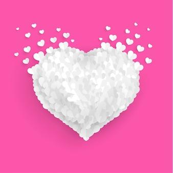 白で愛を広める