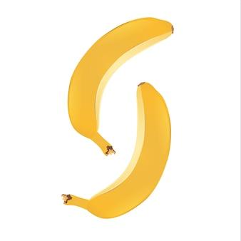 新鮮なバナナのベクトルイラスト