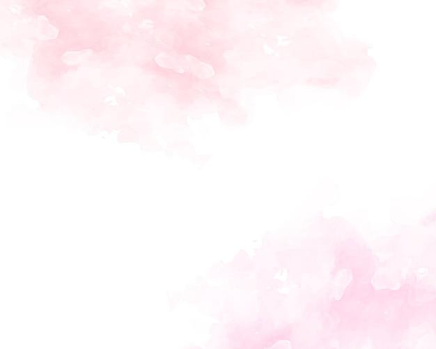 ピンクの柔らかい水彩抽象テクスチャ。