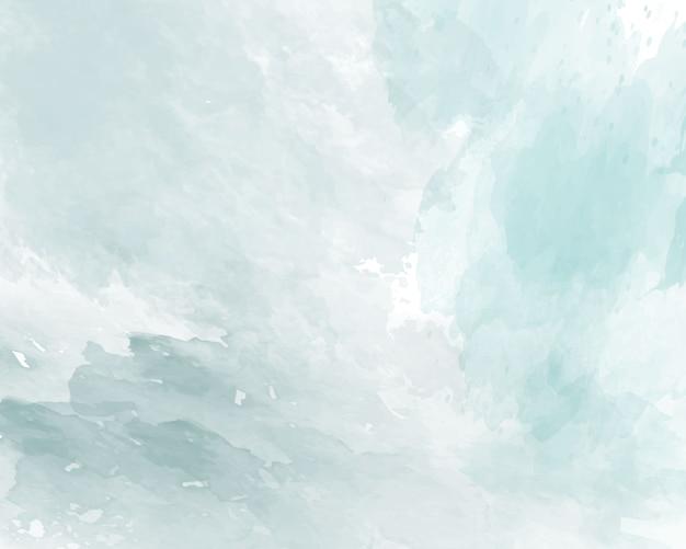 Синяя мягкая акварель абстрактные текстуры.