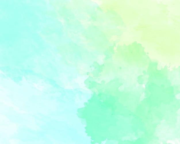 青い柔らかい水彩抽象テクスチャ。