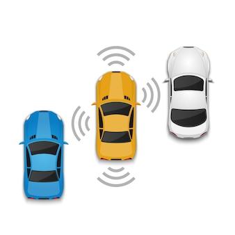 Автомобильная автономная технология вождения