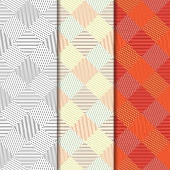 幾何学的なシームレスパターン背景。
