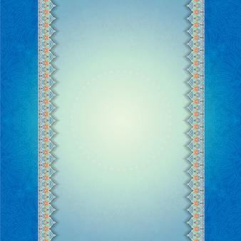 Векторные винтажные цветочные орнамент приглашение свадьба визитная карточка фоном