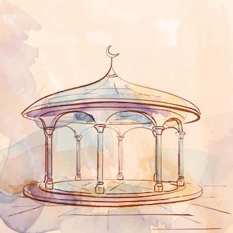 Исламский дизайн фона