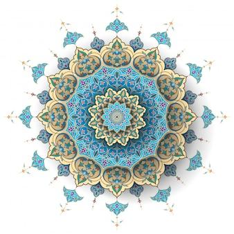 アラビア語の花のイスラム