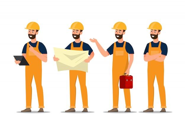 Архитектор, прораб, инженер-строитель разного характера