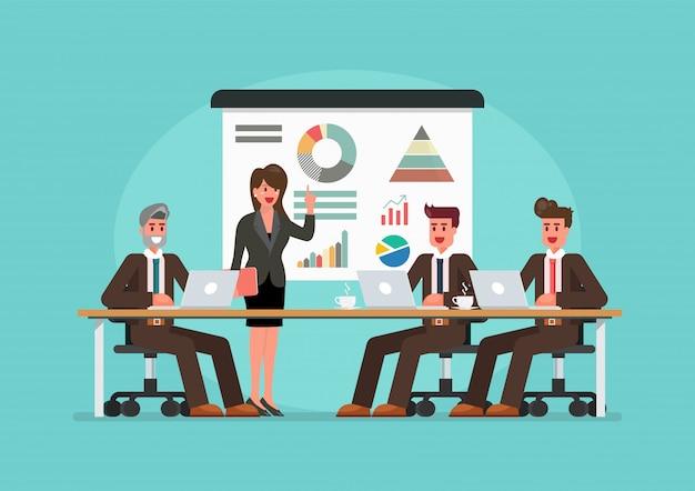 会議ビジネス人々