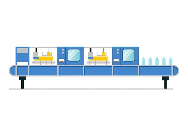 Автоматизация ленточной машины на умном заводе-изготовителе