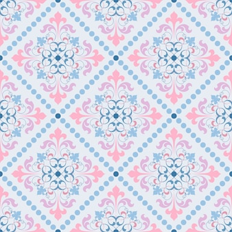 ダマスクベクトル古典的なパターン