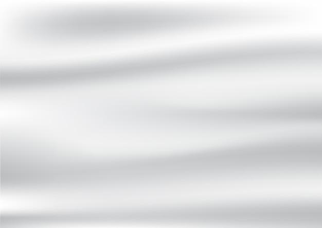 Абстрактные морщины из белых атласных и шелковых тканей фона и текстур