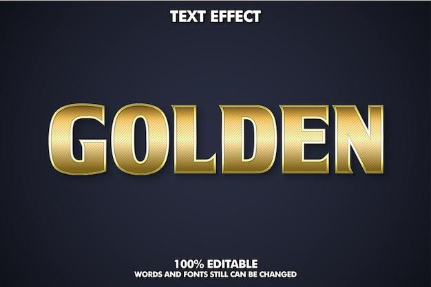 Золотой металлический текстовый эффект для стиля современного дизайна