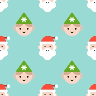 壁紙として使用するクリスマスシームレスパターン