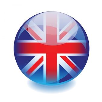イギリスの旗ベクトル