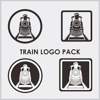 列車のロゴ要素