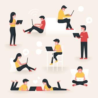共同作業スペース