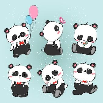 Серия панда