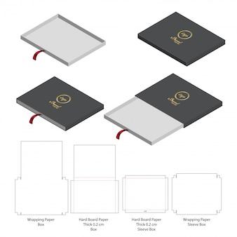 Дизайн упаковки с вырезом коробки