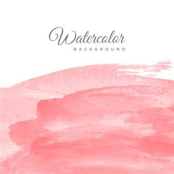 ウォッシュピンクレッド水彩の背景