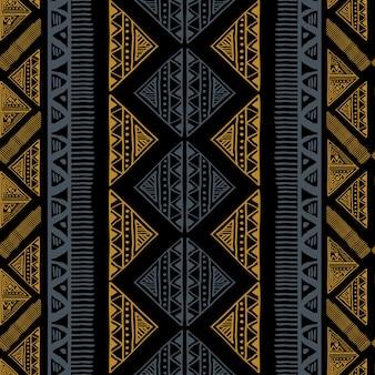 抽象的なエスニックアフリカのパターン