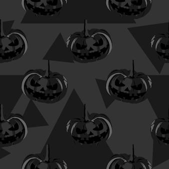 ハロウィンかわいいゴーストとスターのシームレスなパターン