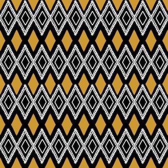 抽象的な古代の古い部族のパターンの背景