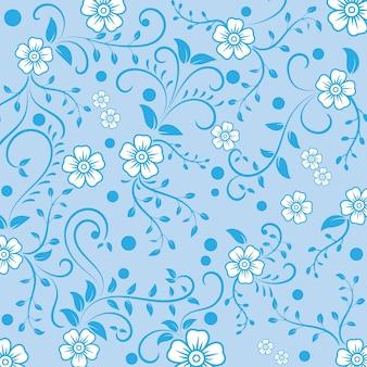 ヴィンテージの装飾用の花のパターンの背景。