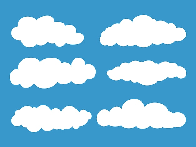 雲のセット