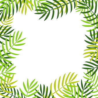 シュロの葉の背景。