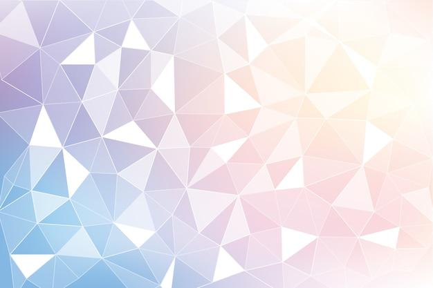抽象的な多角形の背景