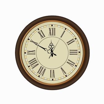 古いヴィンテージの時計の顔