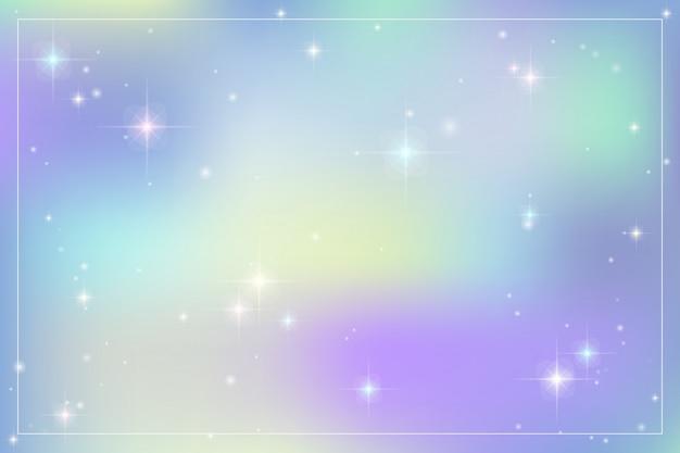 Галактика фантазия фон с пастельных цветов.