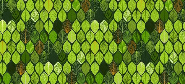 Абстрактные листья бесшовные модели. экзотические обои.