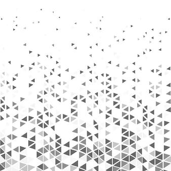 抽象的なモダンなトライアングルパターン