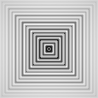 未来的なシンプルなデザインの黒と白のピラミッドの正方形のパターンの背景の要約