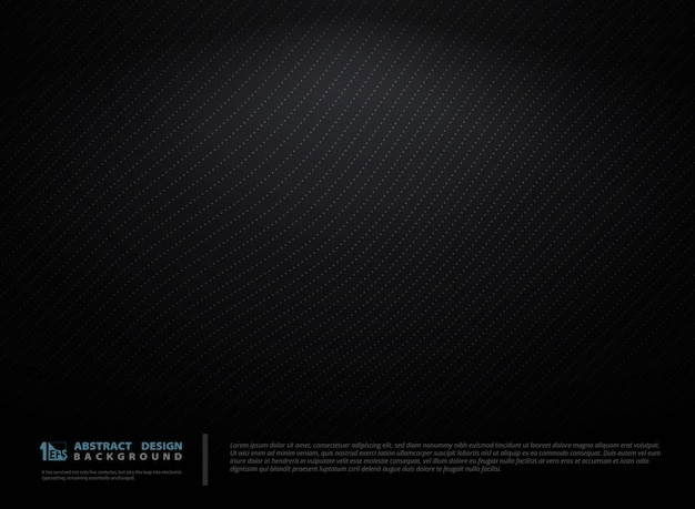 Абстрактный градиент черный технический фон.