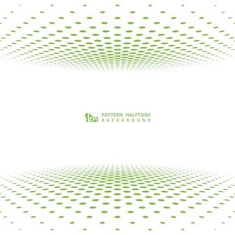 Абстрактное зеленое полутоновое художественное оформление покрытия.