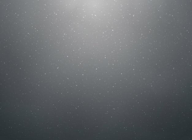 Абстрактная снежинка на черном