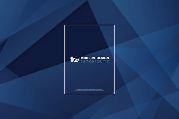 現代の技術設計の抽象的な青い技術デザインの背景。