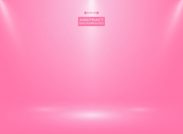 Аннотация градиентного розового цвета в фоне студии