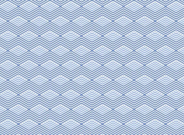 抽象的なアクアマリンブルーウォーター幾何学的三角形パターン背景。