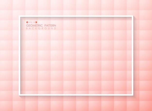 未来的なグラデーションピンクのリビングコーラルカラーパターン