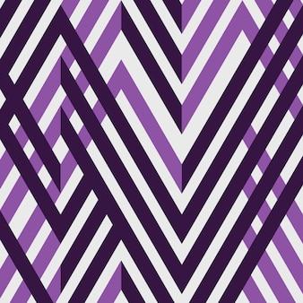 抽象的なシンプルなパープルストライプラインの幾何学模様。