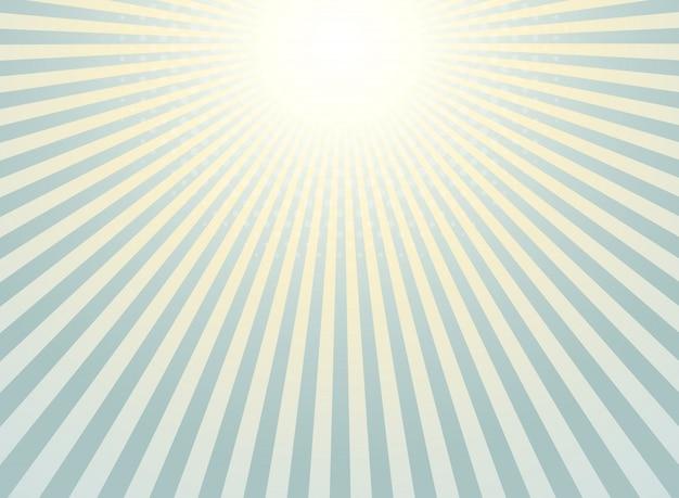 Абстрактный фон солнечных лучей
