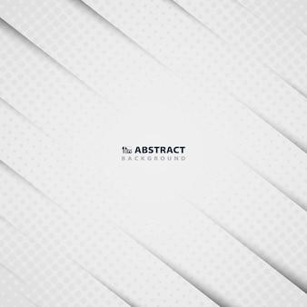 Абстрактный узор из белой бумаги