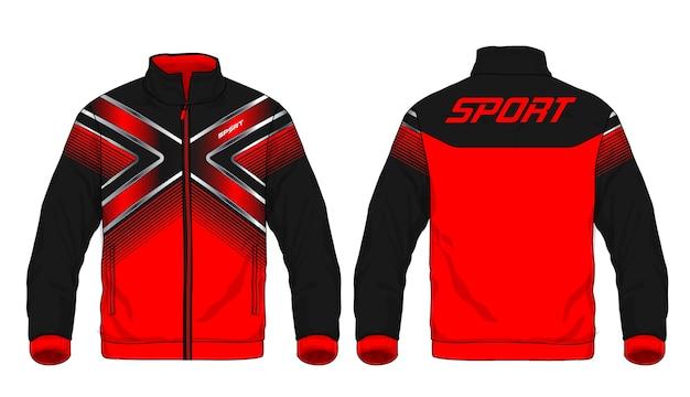 スポーツジャケットのベクトル図