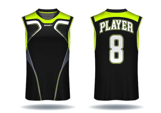 バスケットボールジャージ